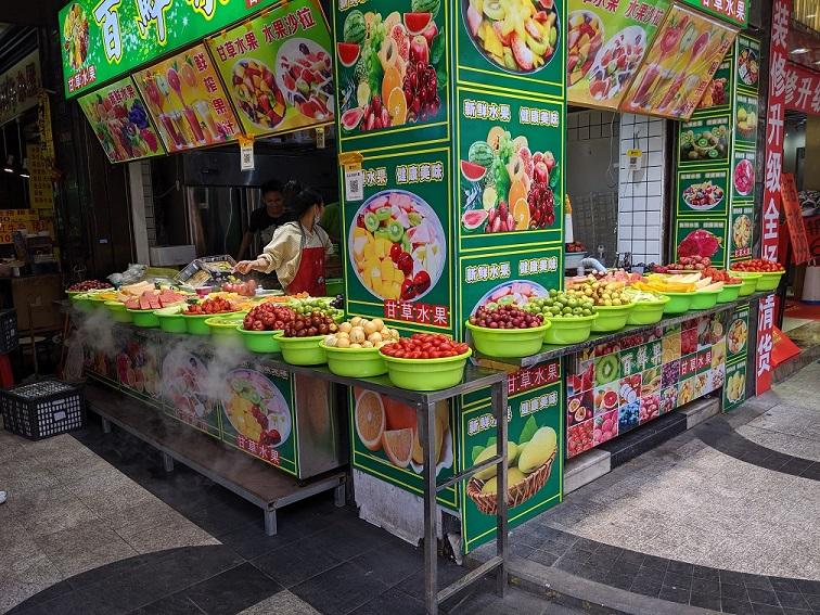 Kína - Streetfood