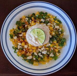 Mexikói kukoricasaláta